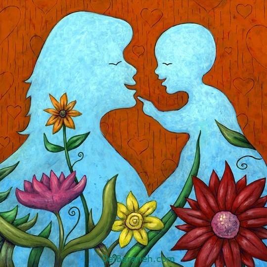 نقاشی روز مادر (۱۷)