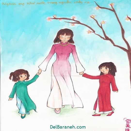نقاشی روز مادر (۱۹)