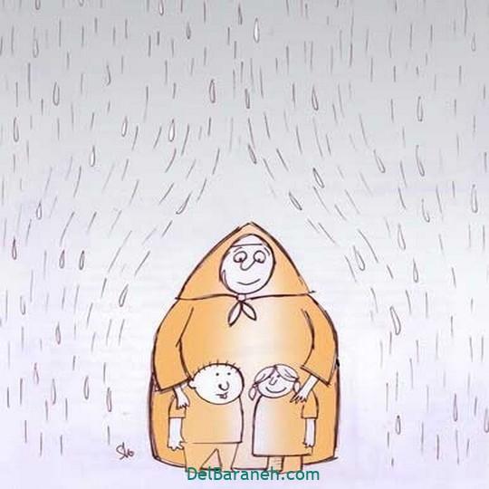 نقاشی روز مادر (۲۲)