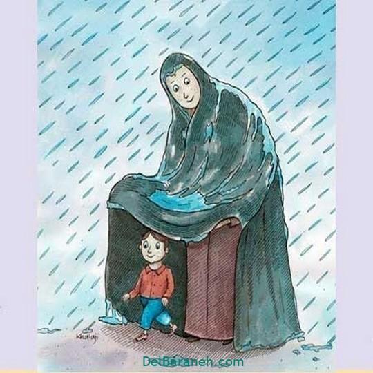 نقاشی روز مادر (۲۳)