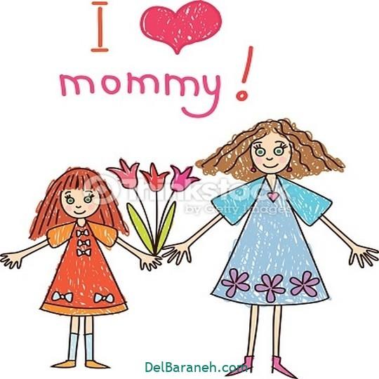 نقاشی روز مادر (۲۴)