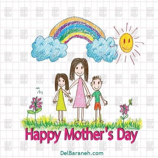 نقاشی روز مادر (۲۶)