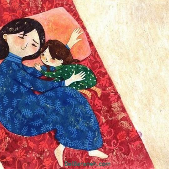 نقاشی روز مادر (۳)
