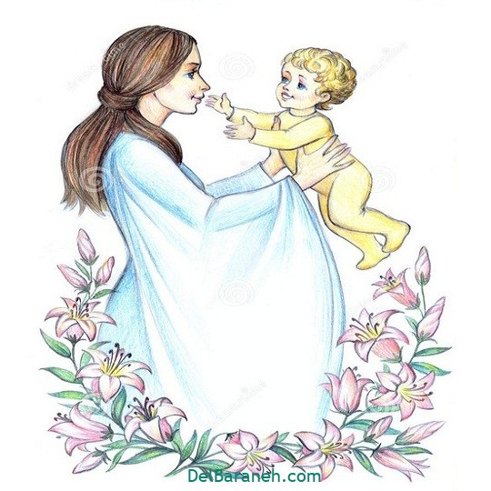 نقاشی روز مادر (۳۱)