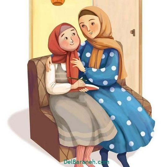 نقاشی روز مادر (۴)