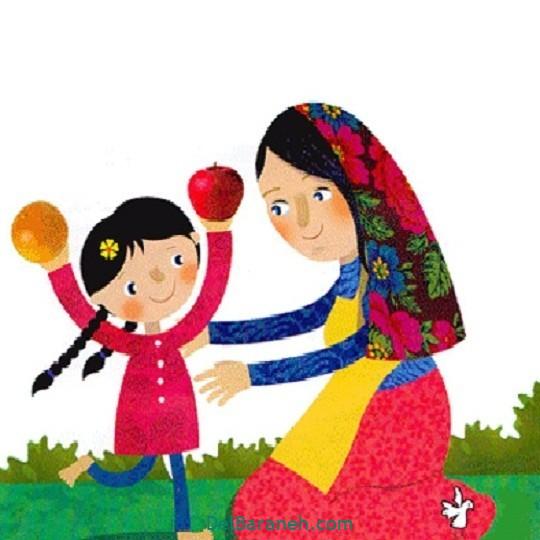 نقاشی روز مادر (۶)
