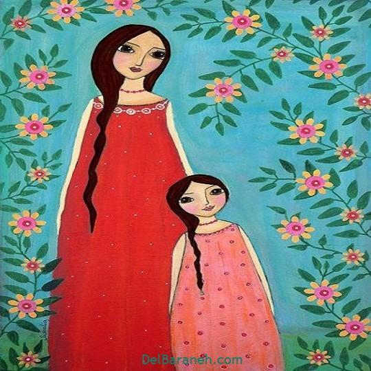 نقاشی روز مادر (۹)