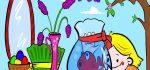 نقاشی هفت سین | ۶۰ نقاشی و رنگی آمیزی عید نوروز و سفره هفت سین کودکانه
