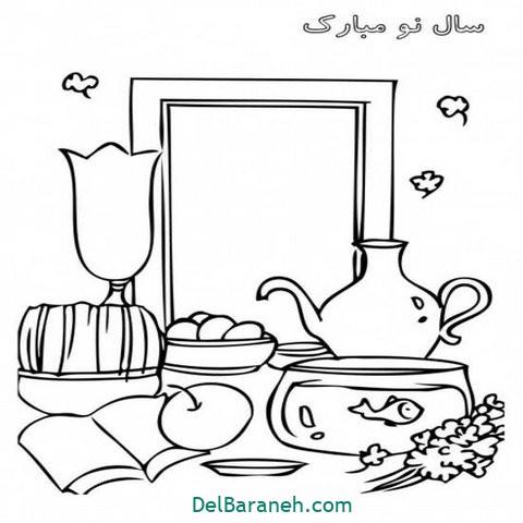نقاشی هفت سین عید نوروز (۱۰)