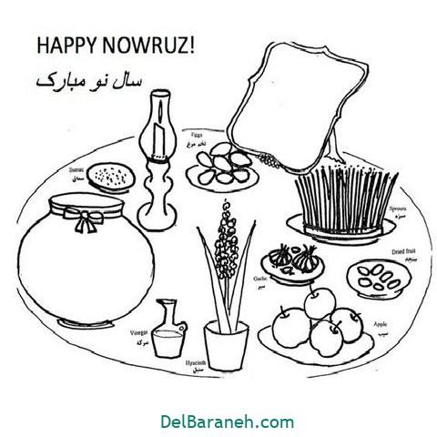 نقاشی هفت سین عید نوروز (۱۶)