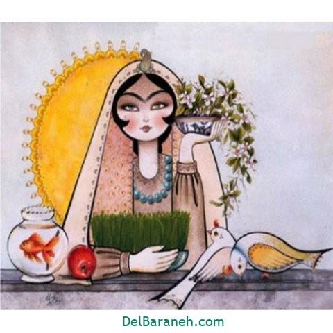 نقاشی هفت سین عید نوروز (۴۳)