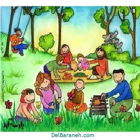 نقاشی هفت سین عید نوروز (۴۶)