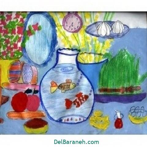 نقاشی هفت سین عید نوروز (۴۷)