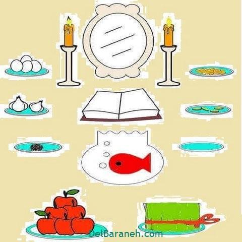 نقاشی هفت سین عید نوروز (۵)