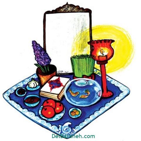 نقاشی هفت سین عید نوروز (۵۳)