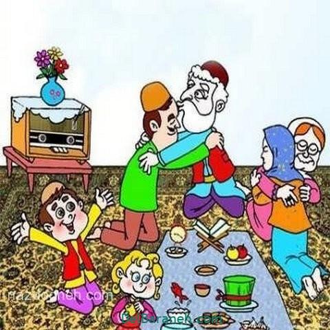 نقاشی هفت سین عید نوروز (۵۵)
