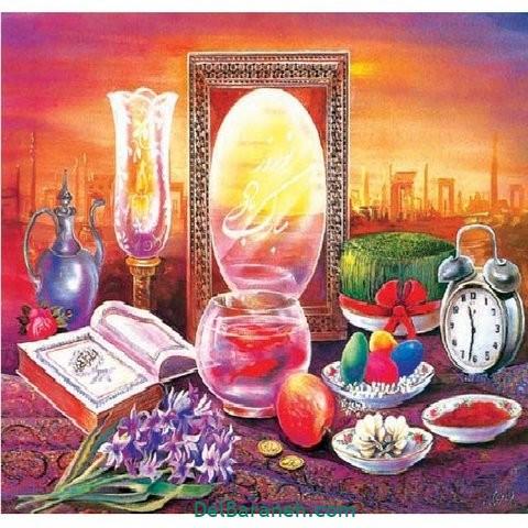 نقاشی هفت سین عید نوروز (۵۶)