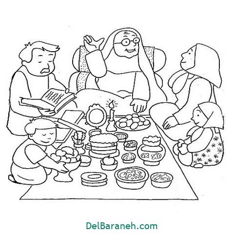 نقاشی هفت سین عید نوروز (۶)