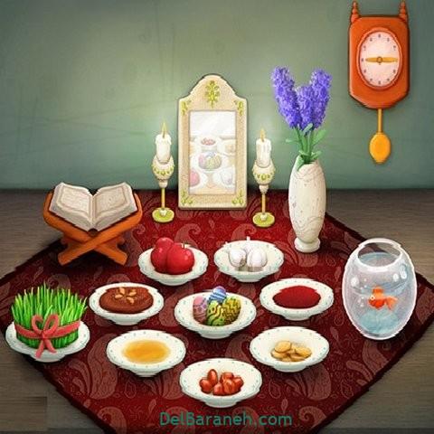 نقاشی هفت سین عید نوروز (۶۰)