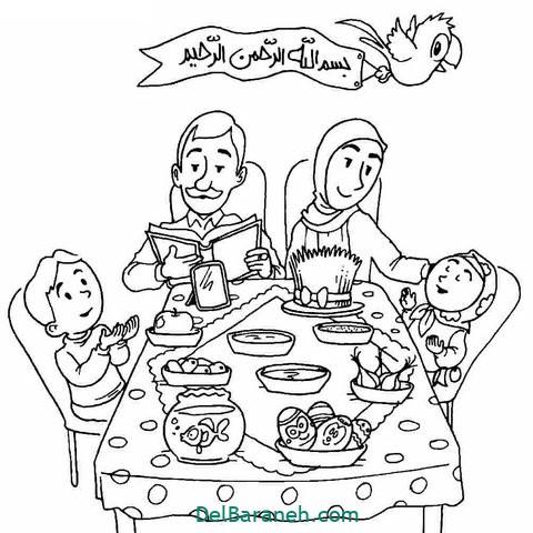 نقاشی هفت سین عید نوروز (۸)
