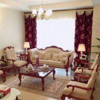 پرده پذیرایی | ۳۰ عکس از مدل پرده پذیرایی شیک در خانه های ایرانی