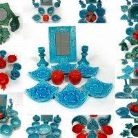 ظرف هفت سین | ۳۵ مدل ظرف دست ساز سنتی زیبا برای هفت سین ۹۷