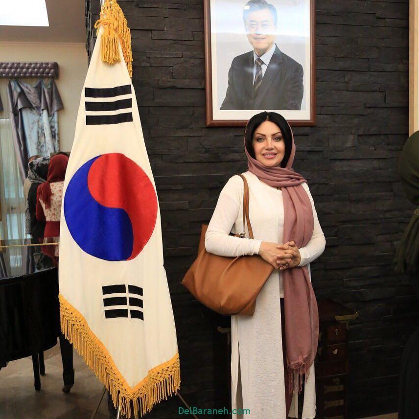 بهاره نیلی منزل سفیر کره جنوبی