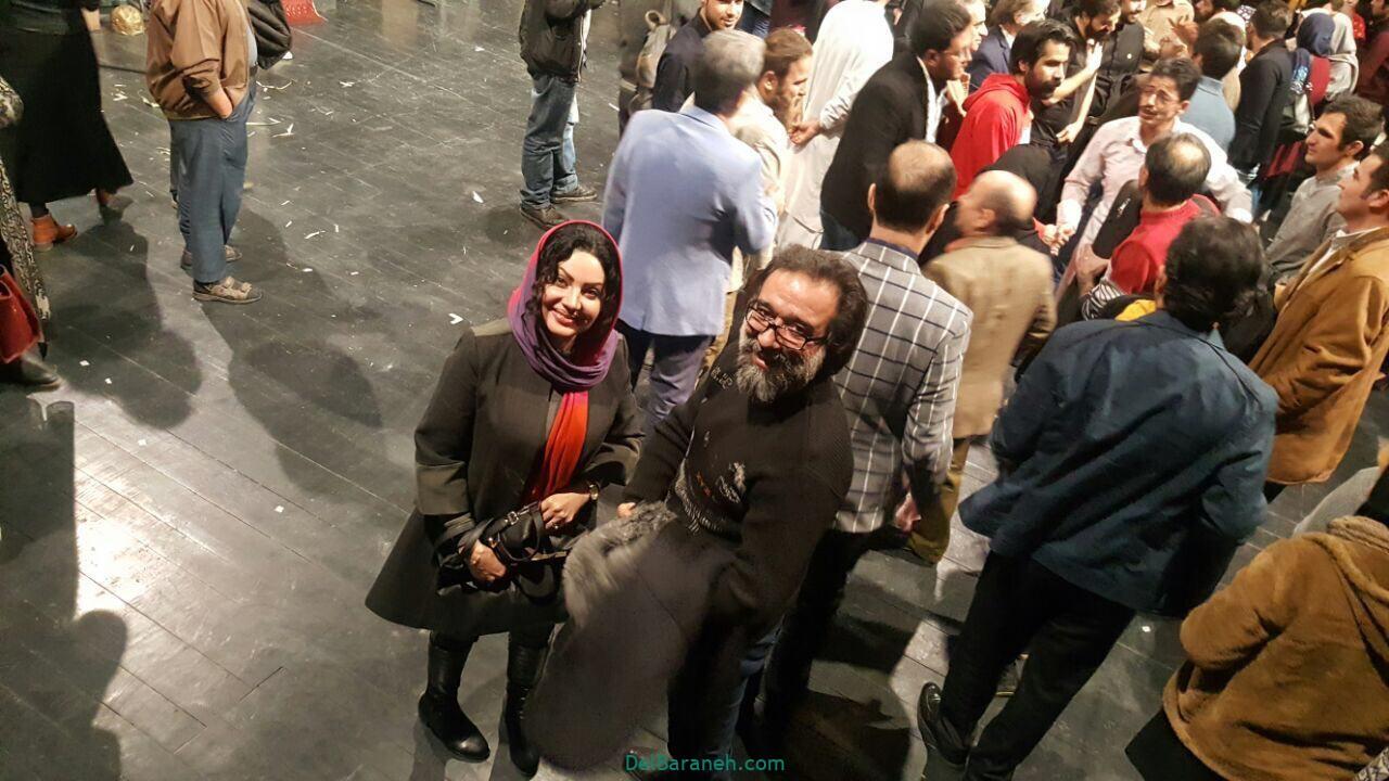 فاضل قنادی و بهاره نیلی مهمانان ویژه تئاتر آقای شف کاری از امید اسدی