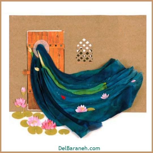 نقاشی شهادت حضرت زهرا