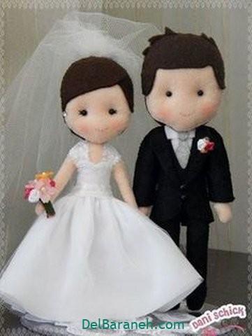 عروس و داماد نمدی (۱۰)