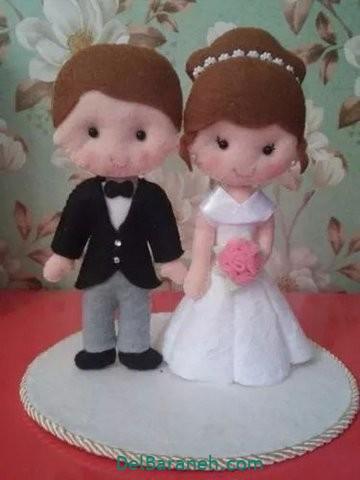 عروس و داماد نمدی (۱۱)