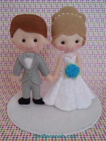 عروس و داماد نمدی (۱۲)