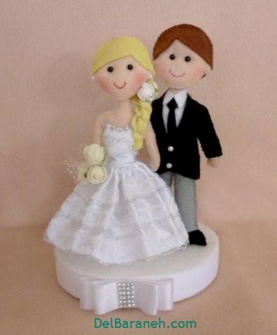عروس و داماد نمدی (۱۳)