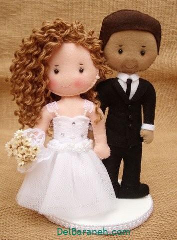 عروس و داماد نمدی (۱۴)