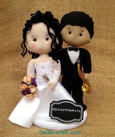 عروس و داماد نمدی (۱۵)