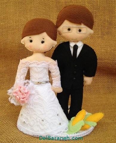 عروس و داماد نمدی (۱۶)