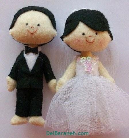عروس و داماد نمدی (۲)