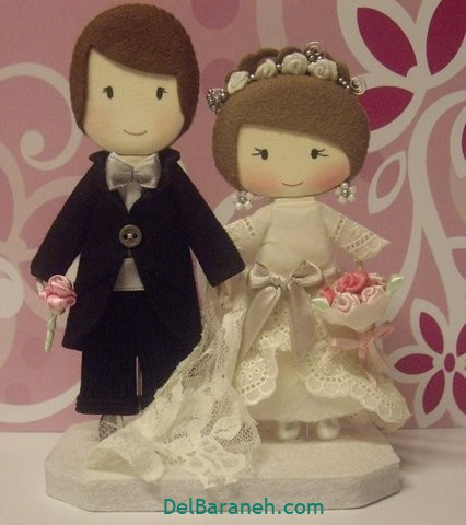 عروس و داماد نمدی (۳)