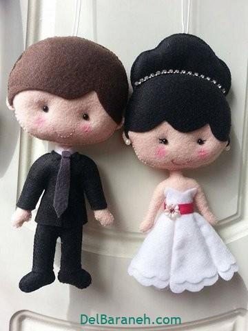 عروس و داماد نمدی (۴)