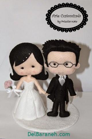 عروس و داماد نمدی (۵)