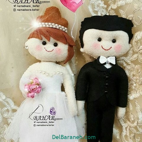 عروس و داماد نمدی (۶)
