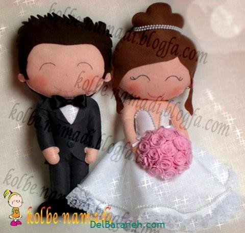 عروس و داماد نمدی (۷)
