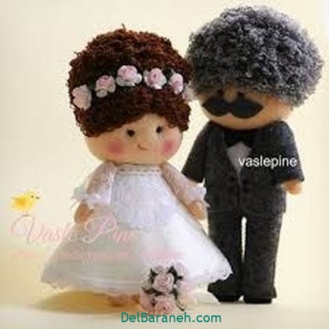 عروس و داماد نمدی (۹)