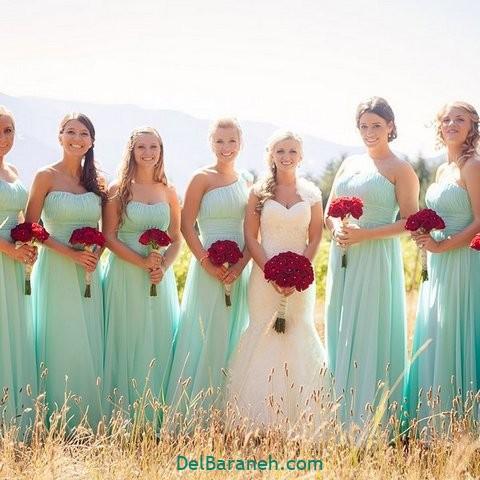 لباس ساقدوش عروس (۱۷)