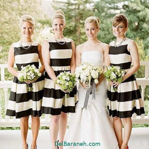 لباس ساقدوش عروس (۲۰)