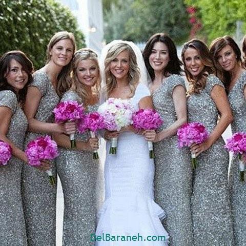 لباس ساقدوش عروس (۲۲)