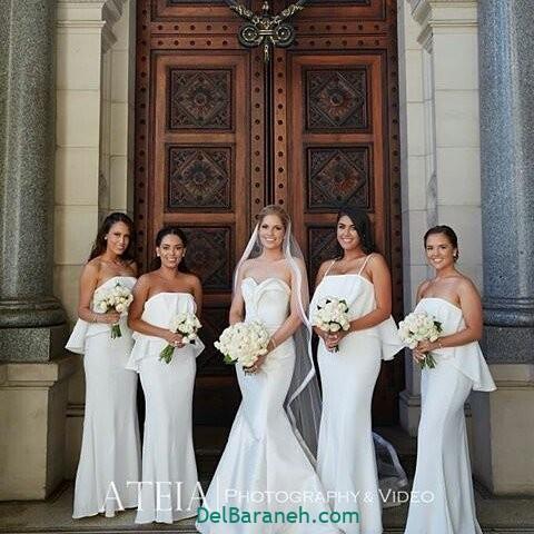 لباس ساقدوش عروس (۲۳)