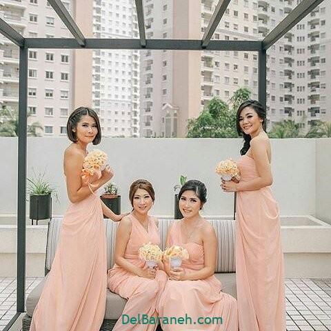 لباس ساقدوش عروس (۲۵)
