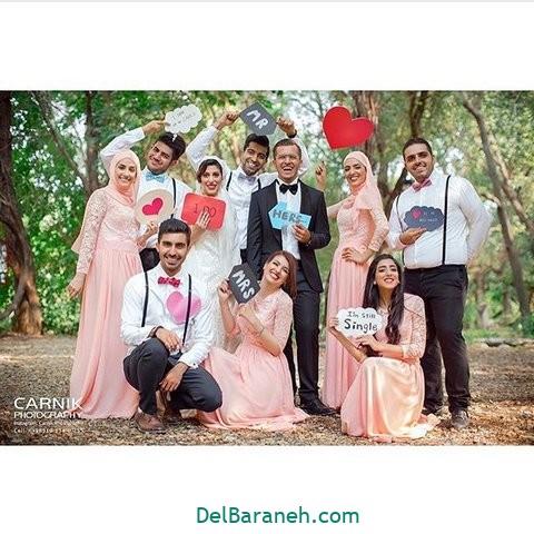 لباس ساقدوش عروس (۲۷)