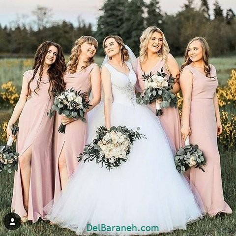 لباس ساقدوش عروس (۲۹)